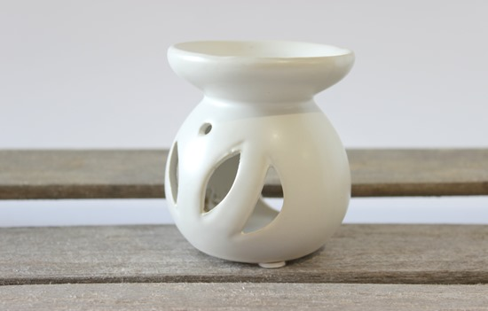 White Tea Light Diffuser from Simple is Pretty Shop