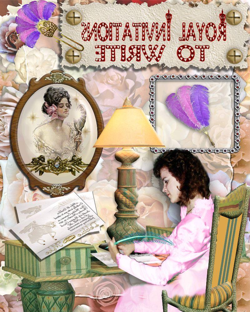 The Royal Wedding Album 1 pg 3   Digital Scrapbooking at Scrapbook Flair