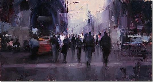 a-lively-promenade-Tibor-Nagy-ENKAUSTIKOS