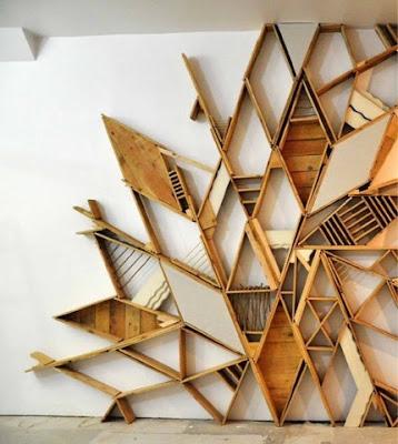 Bookshelf design cool