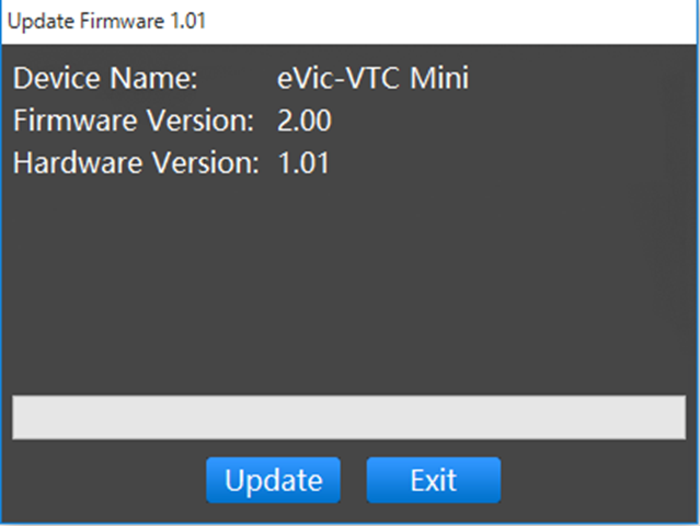 VTC Mini Firmware