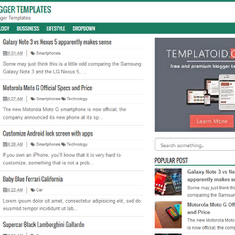 SEO Fix Template Blogger yang Fast Loading dan Responsif