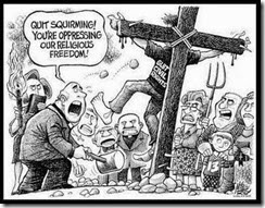 religious freedom cartoon