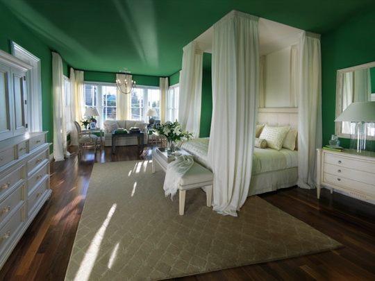 schlafzimmerdecke streichen