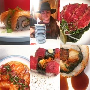 Yo! Sushi blue plates