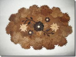 Amadou table mat