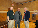 2015 Dr. Benke with Person from Lutheran Hour Ministries and another visitor to Exhibits 6-4-15.jpg