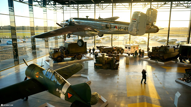 Dutch National Military Museum Soesterberg in Soest, Utrecht, Netherlands