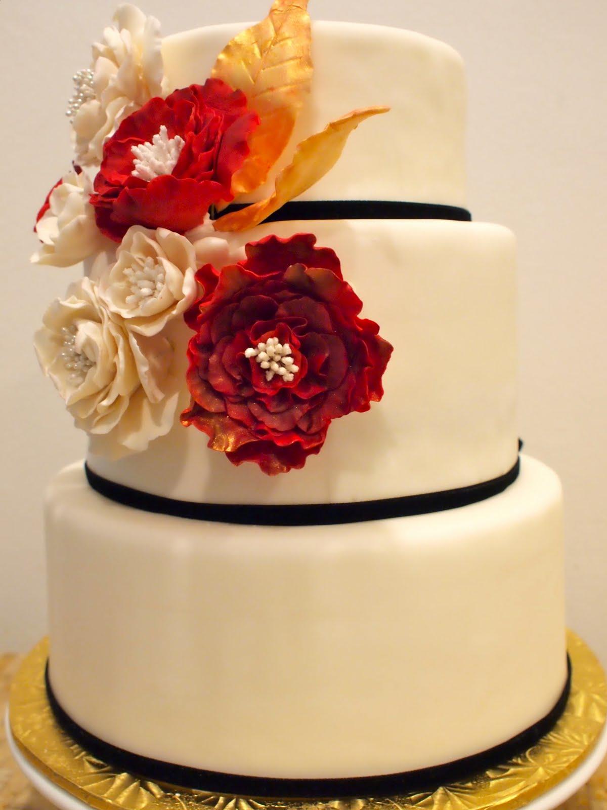 Charly\'s blog: Red & Gold Wedding sugar