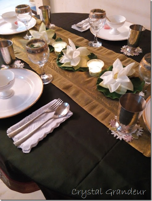 Tablescape using jasmine