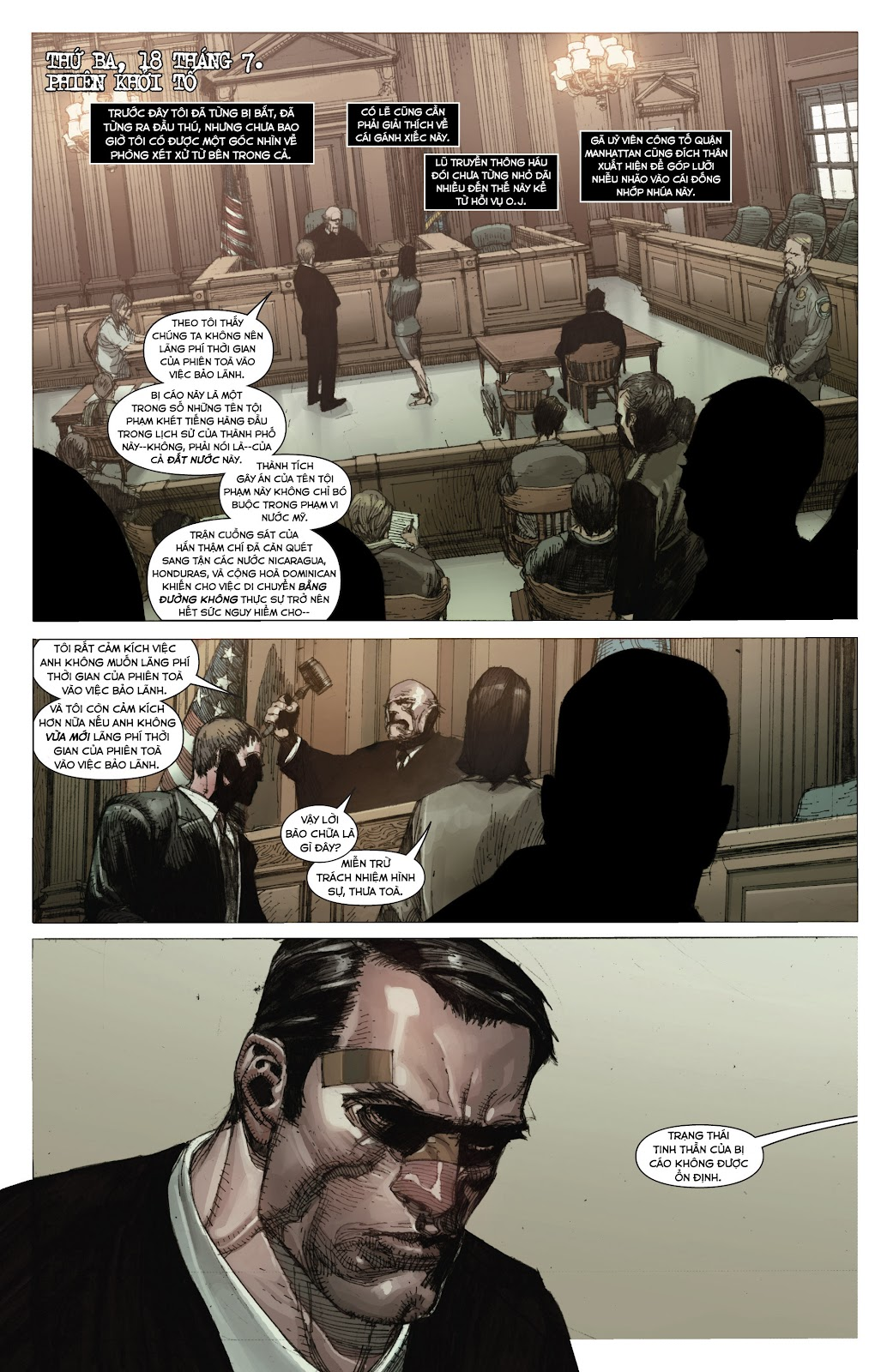 Punisher: Trial of the Punisher chap 1 - Trang 16