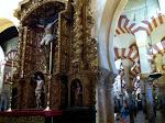 La Mezquita - katedra w Kordobie, koszmarne połaczenie meczetu z chrześcijańskim kościołem