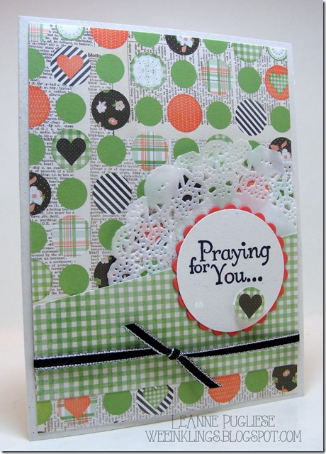 LeAnne Pugliese WeeInklings Thoughts & Prayers Stampin Up