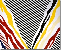 1973 Roy Lichtenstein Untitled (Morris Louis Unfurled)
