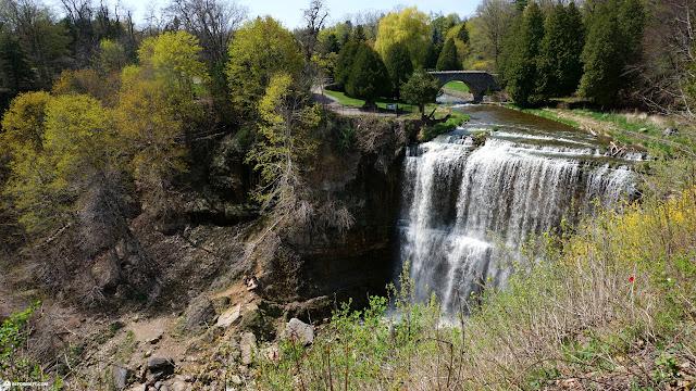 Webster's Falls in Ontario, Canada in Dundas, Ontario, Canada