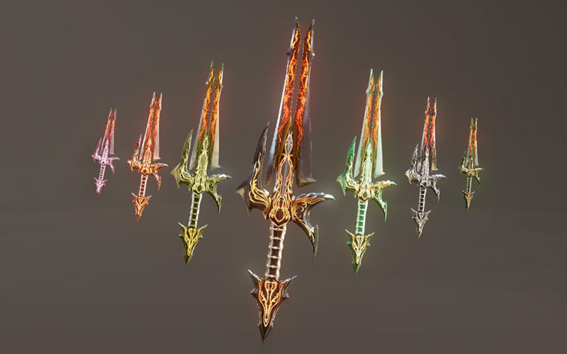 Ngắm vũ khí sắp trình làng của ArcheAge 1.0