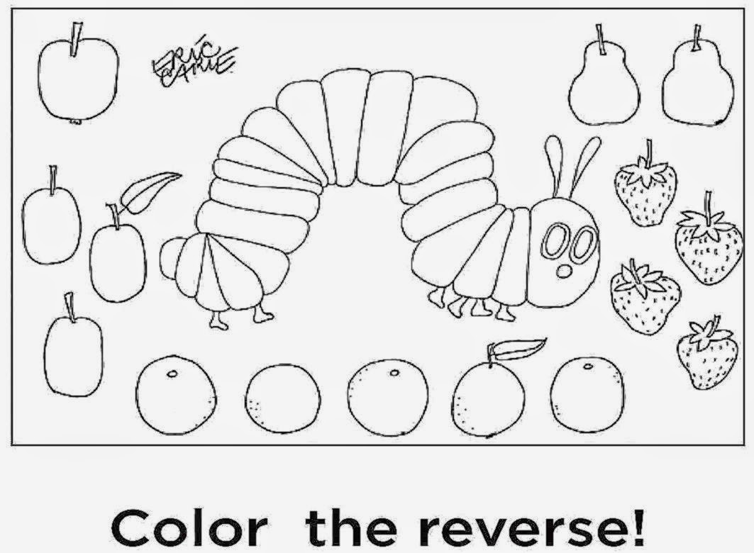 eric carle coloring pages