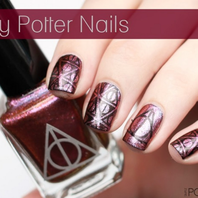 [Stamping] Harry Potter Nails