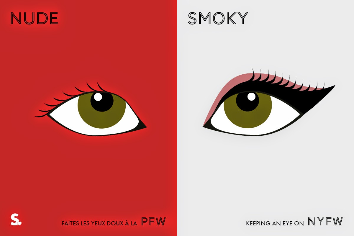 Image of Image of Paris VS New York Fashion Week Infographic 12