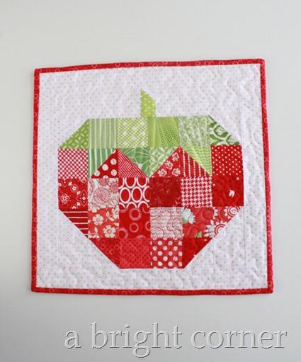 Scrappy Strawberry block