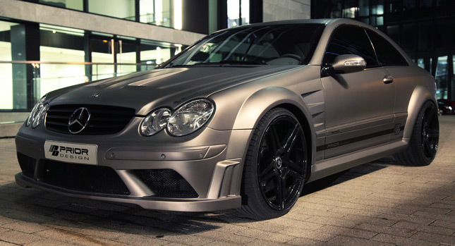 Prior design kit will turn your mercedes clk w209 into a for Mercedes benz clk black series body kit
