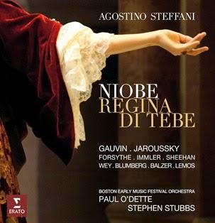 CD REVIEW: Agostino Steffani - NIOBE, REGINA DI TEBE (ERATO 0825646343546)