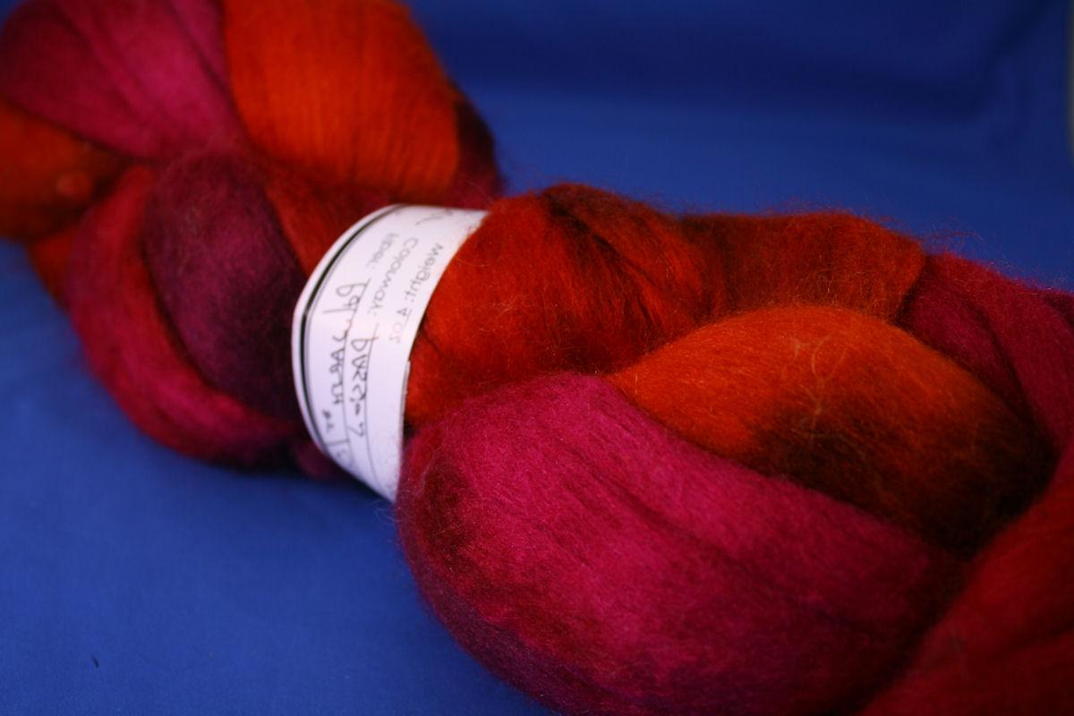 4 Ounces of Polwarth 85  Silk