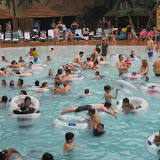 Having fun at Kalahari Water Park in OH 02192012t