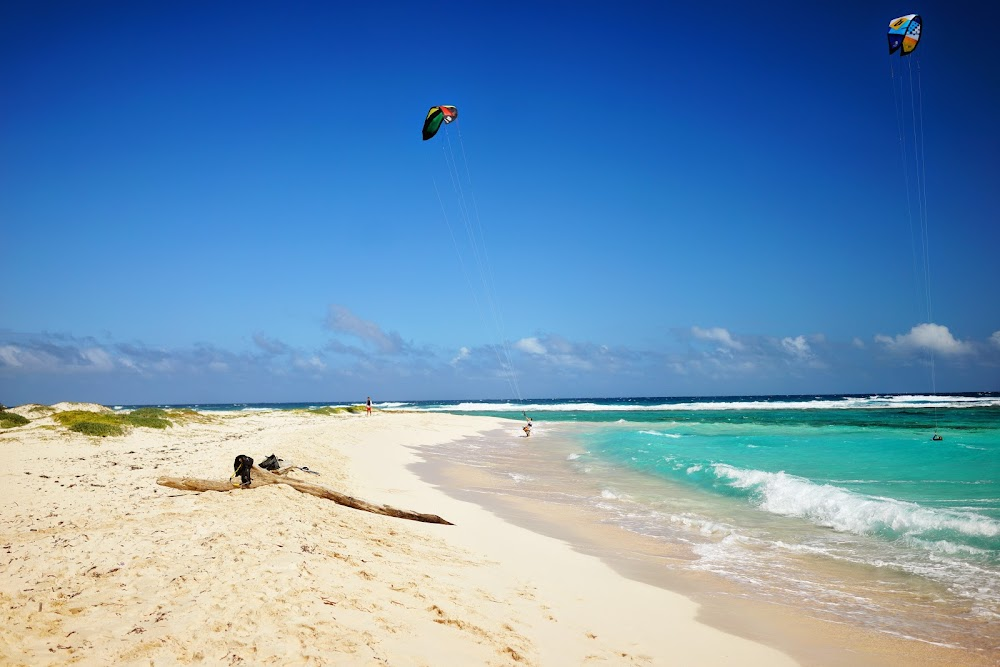 kitesurf in Eagle Beach - Aruba