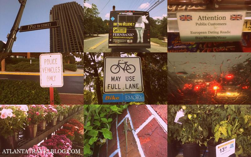 Мобильные фото из путешествия по Атланте