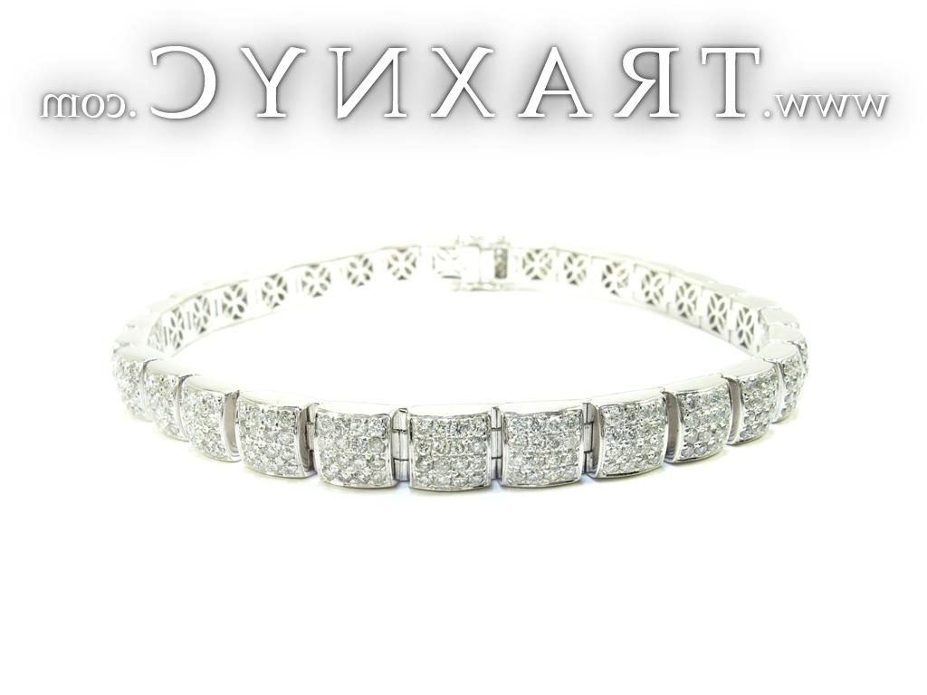Square Diamond Bracelet