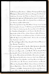 Will of James Eddings, page 1