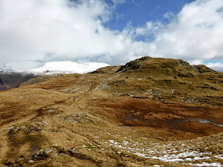 Looking towards Steel Fell
