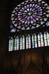 Das Rosenfenster in der Notre Dame