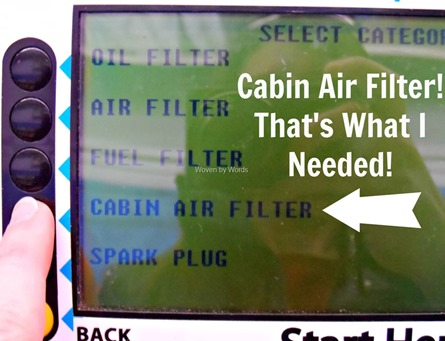 Cabin Air Filter[9]