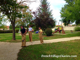 French Village Diaries Fêtes France food games laughter neighbours