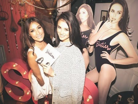 Solenn Heussaff and Georgina Wilson at their Besties book launch