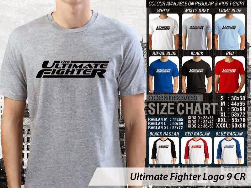 Kaos UFC Ultimate Fighter The Ultimate Fighter Logo 9 distro