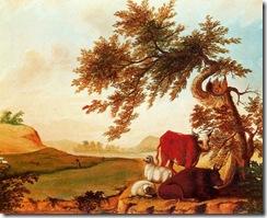 Edward Hicks - Pastoral Landscape (1)