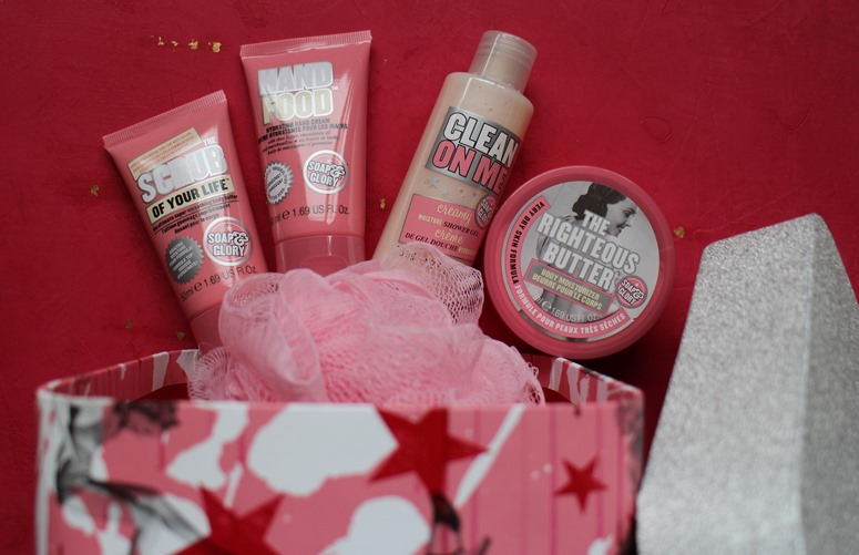Soap Glory-Christmas-gift-hat-box