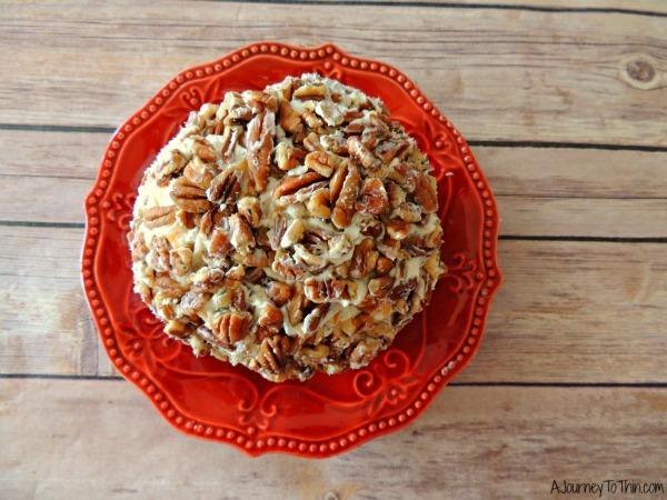 Beautiful Creamy Ranch Cheese Ball Appetizer Recipe - 2 Weight Watchers PointsPlus #SmarterTreats 046