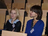Przedstawicielki firmy VetTrade podczas wykładu