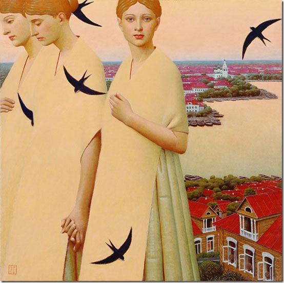 cuerpos celestes - Andrey Remnev - ENKAUSTIKOS