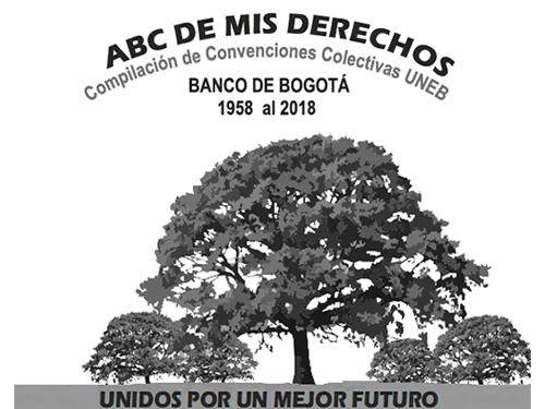 Compilación de Convenciones Colectivas UNEB y el Banco de Bogotá 1958 al 2018