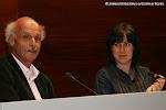 La Presidenta de Trujamán, Cristina Sánchez con Wolf Moser