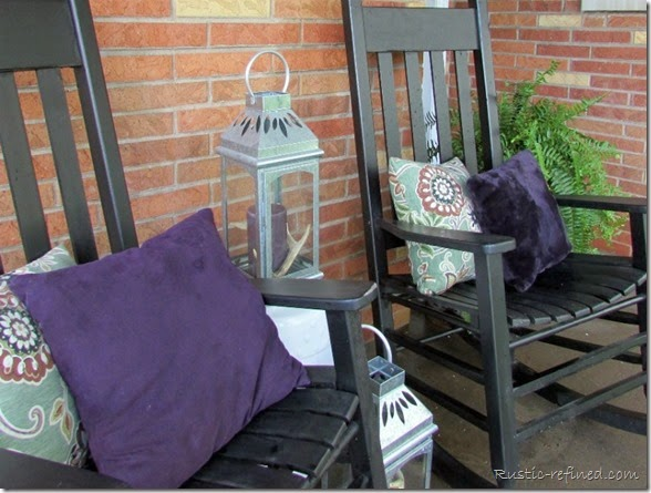 Southern porch decorating