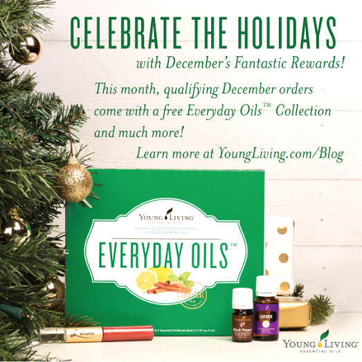 Young Living December 2015 Promotions