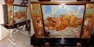 Красивый кабинет 20-й век. Авторская работа. Ручная роспись. 150/60/150 см. 6000 евро.