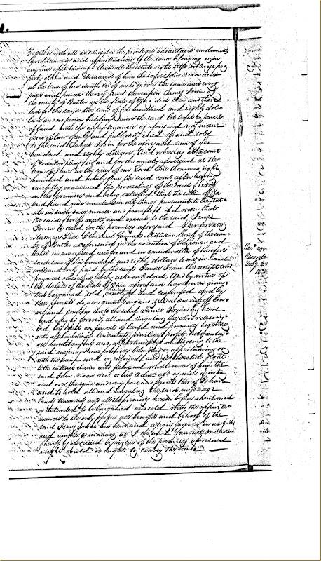 William Nixon,Elizabeth Nixon,Butler Co, OH convey James Irwin 1824 3