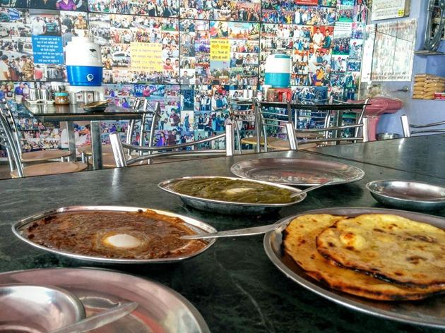 Delicious Punjabi Food at Amritsar